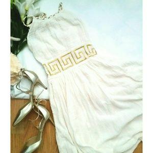 *Greece Halter Dress*